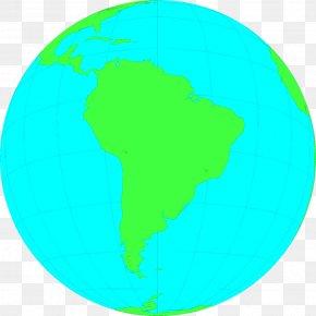 South America Cliparts - South America Latin America Earth Globe Clip Art PNG