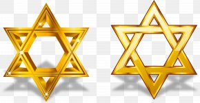 Star Of David Vector - Symbol Star Of David Pentagram PNG