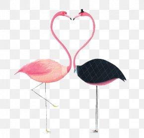 Watercolor Flamingo - Flamingos Paper Drawing Illustration PNG