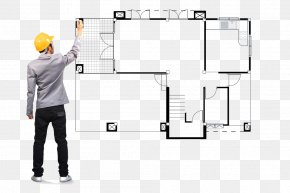 Hand-painted Engineer - Project Interior Design Services Plan PNG