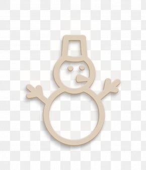 Metal Snowmen Icon - Holiday Icon New Year Icon Snow Icon PNG