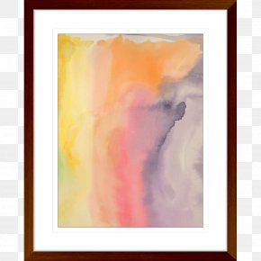 Painting - Watercolor Painting Modern Art Picture Frames Acrylic Paint PNG