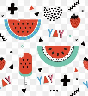 Watermelon Wallpaper Vector - Wedding Invitation Party Game Greeting Card Birthday PNG