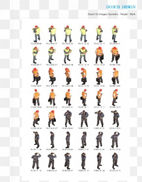 People 2d - Isometric Projection Sprite 2D Computer Graphics PNG