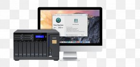 Data Storage Device - MacBook Pro Network Storage Systems QNAP Systems, Inc. Data Storage PNG