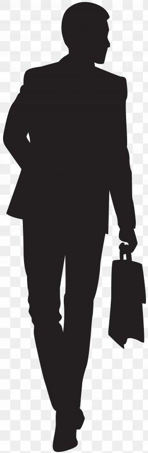 Businessman Silhouette Clip Art - Silhouette Clip Art PNG