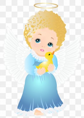 Cute Angel Transparent Clip Art Image - Cartoon Angel Royalty-free Clip Art PNG