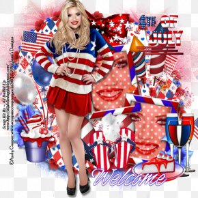 United States - Cheerleading Uniforms Flag Of The United States Independence Day Costume PNG