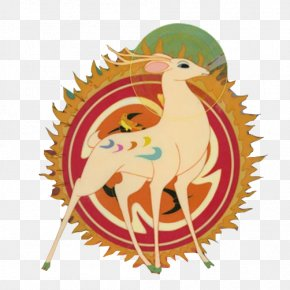 Buddhism Jiu Selu Material Picture - China Deer Painting Animation Chinese Art PNG
