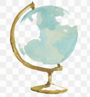 Globe - Globe Watercolor Painting Drawing PNG