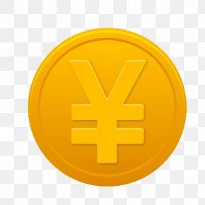 Money Fly Symbol - Symbol Money Gold Icon PNG
