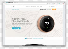 Nest Labs Thermostat Home Automation Kits Internet Of Things Honeywell Lyric T5 PNG