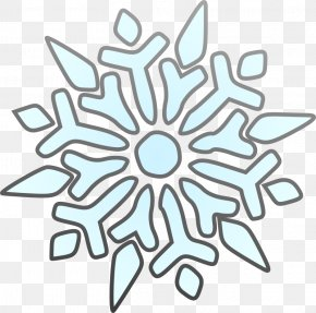 Snowflake Cliparts Easy - Winter Free Content Website Clip Art PNG