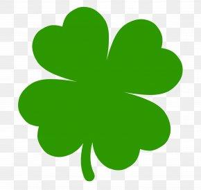 Four-leaf Clover Shamrock Saint Patrick's Day Clip Art PNG