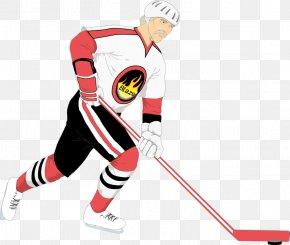 Hockey Player - Ice Hockey Hockey Stick Ice Skating Clip Art PNG