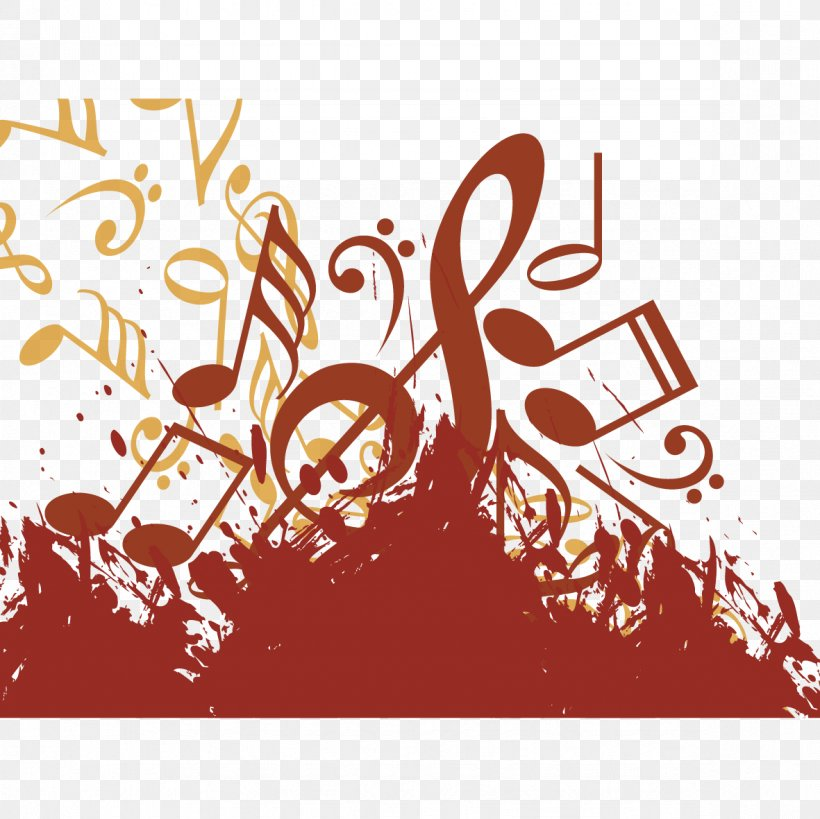 Musical Note Illustration, PNG, 1181x1181px, Watercolor, Cartoon, Flower, Frame, Heart Download Free