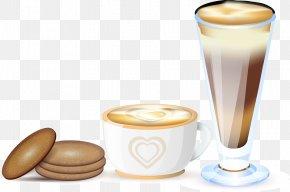 Vector Tea - Coffee Latte Macchiato Tea Cafxe9 Au Lait PNG