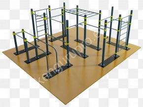 Outdoor Gym Calisthenics Exercise Equipment Street Workout PNG