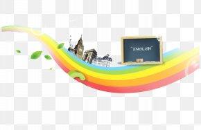 Rainbow - ABC Learning Pad Rainbow PNG