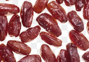 Small Candied Dates, Dried Jujube - Date Palm Dried Fruit Dates Food Drying PNG