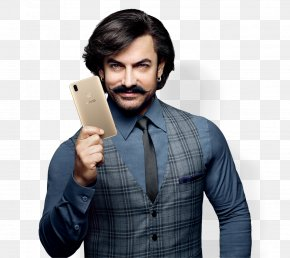 Person Computer - Aamir Khan Vivo V9 Oppo F7 India PNG