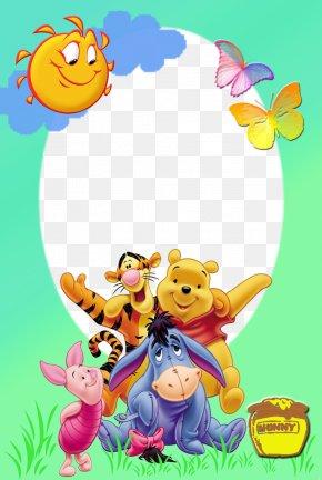 Winnie Pooh - Winnie The Pooh Eeyore Piglet Pooh And Friends Tigger PNG