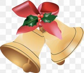 Christmas Church Cliparts - Santa Claus Christmas Jingle Bell Clip Art PNG