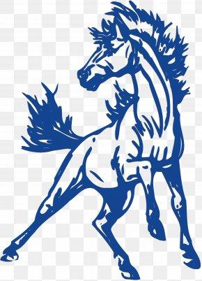 Mustang - John Jay High School Clip Art Mustangs Yearbook Earl Warren High School PNG
