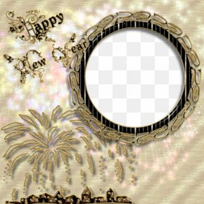 New Year Fireworks Gray Frame Material - Chinese New Year Fireworks PNG