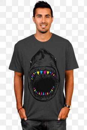 T-shirt - T-shirt Top Sleeve Crew Neck PNG