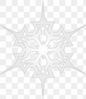 Snowflake - Visual Arts White Symmetry Pattern PNG