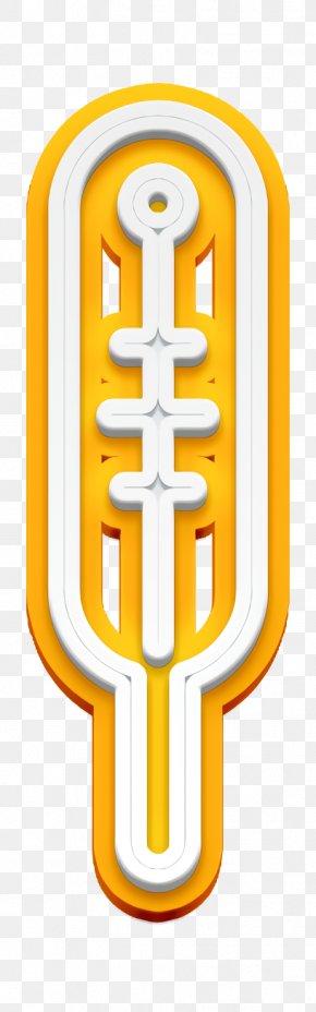 Yellow Weather Icon - Celsius Icon Cold Icon Fahrenheit Icon PNG