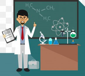 Chemistry Teacher Blackboard Tool Class - Chemistry Teacher Chemical Formula Blackboard PNG