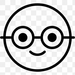 Smiley - Emoticon Smiley Nerd Clip Art PNG