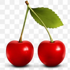 Red Cherry Image Download - Cherry Berry Fruit Icon PNG