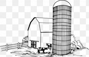 Barn - Silo Agriculture Drawing Barn Clip Art PNG