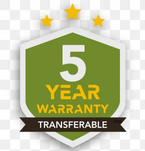 1 Year Warranty - Logo Brand Green PNG