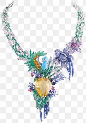 Jewellery - Van Cleef & Arpels Jewellery Necklace Gemstone Sapphire PNG
