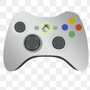 Joystick - Xbox 360 Controller Xbox One Controller Joystick Game Controllers PNG