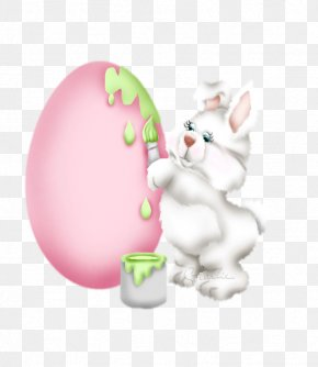 Cartoon Rabbit - Easter Happiness Friendship Resurrection Of Jesus PNG
