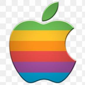 Apple Classic Logo Icon - IPhone Apple II Logo PNG