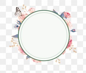 Fresh And Beautiful Wreath Borders - Wreath Flower Garland PNG