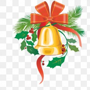 Bell - Ded Moroz New Year Christmas Clip Art PNG