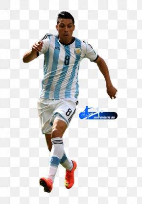 Football - Enzo Pérez Argentina National Football Team Club Atlético River Plate Jersey PNG