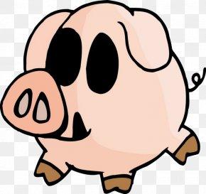 Cute Cartoon Pig - Cartoon Chinese Zodiac Pig PNG
