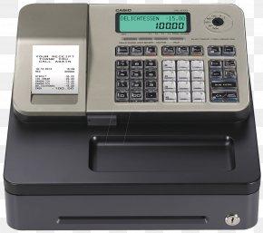 Cash Register - Cash Register Casio Kassabon Payment Drawer PNG