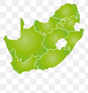 Green Map Of South Africa - South Africa Blank Map Vector Map PNG