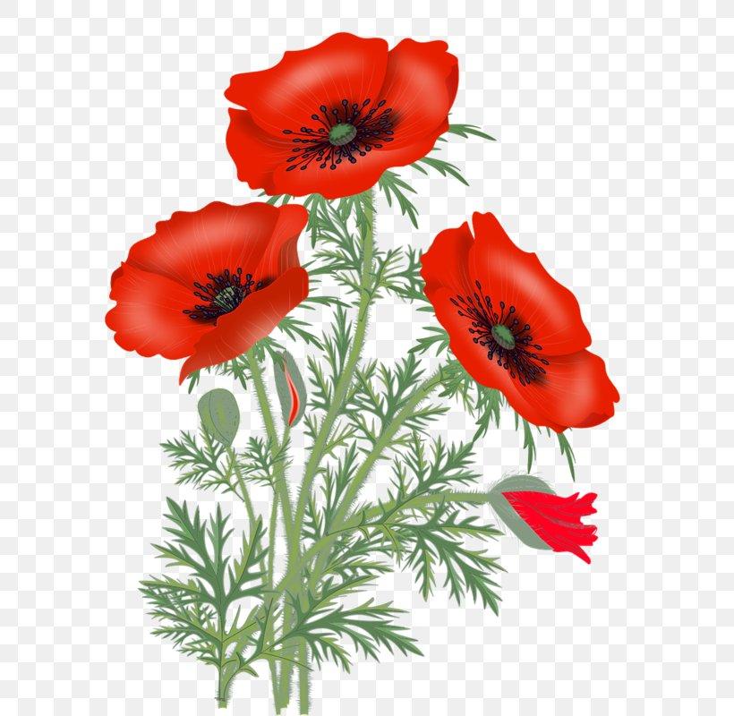 Red Poppy Clip Art