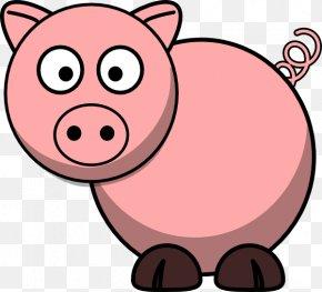 Cute Pig Cliparts - Domestic Pig Free Content Clip Art PNG
