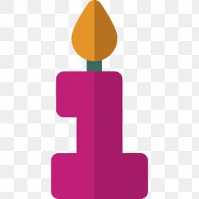 Birthday Candles - Birthday Cake Candle Clip Art PNG